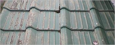 屋根の問題症状